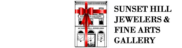 Sunset Hill Jewelers & Fine Arts Gallery Logo